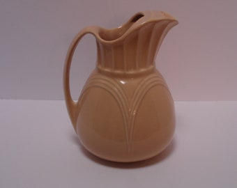 Extremely Rare Abingdon Pottery, 7 Cup Pitcher, #200