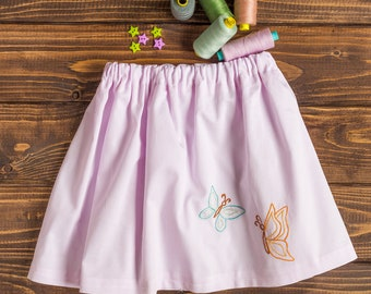 Girl skirt, toddler skirt, twirl skirt, different age sizes