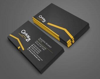 Real estate business card design business card for real estate century 21 business card real estate custom design print ready colourmoves