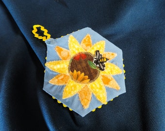 Set of Two Save The Bees Ornaments