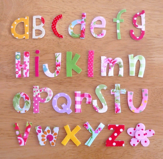 mixed case letter amp funky iron on fabric letters mixed 3 3 5cm 23671 | il 570xN.581331325 7ss6