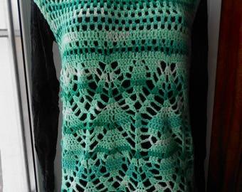 Dress Tunic Crochet FREE SHIPPING