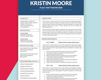 marketer resume