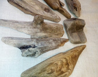 Driftwood supplies, set of driftwood pieces, natural supplies, rustic decor