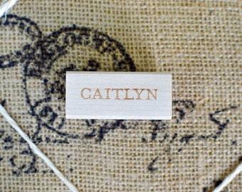 Name Rubber Stamp - Customized Stamp - Personalized Stamp