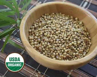 Organic Coriander Seeds. 2 oz