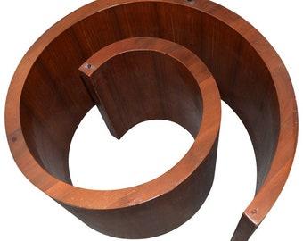 Vladimir Kagan Snail Coffee Table or Sculptural Wall Art
