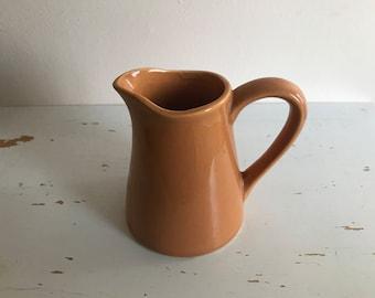 Grandma's Little Creamer  Brown/Kitchen/Vase/Flowers/Creamer/Pitcher/Ceramic/Vintage/USA/Milk/Tea/Coffee