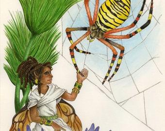 Egyptian Faerie / Egyptian Fairy