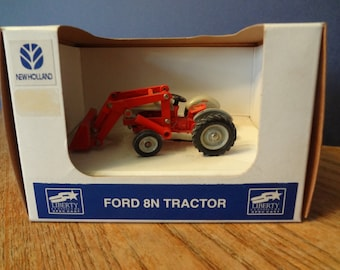 1/43 scale ford front loader metal