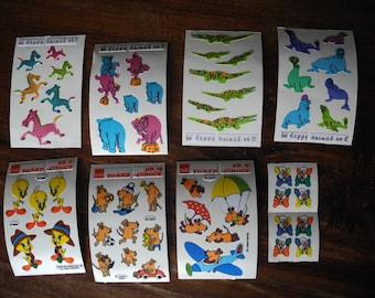 Vintage vilt stickers