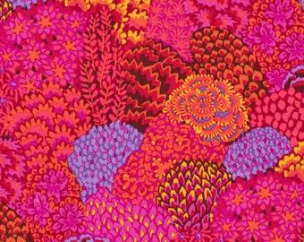Kaffe Fassett Trees Oriental Red Fabric 1 yard