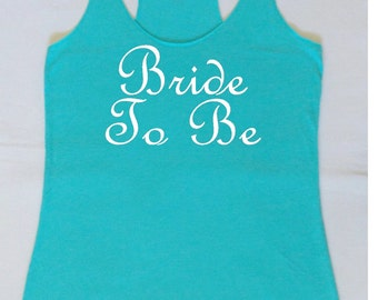 Eco Bride to Be Tank Top. Bachelorette Party Tanks. Just Married Tanks. Bride Shirt. Bride Shirt. Wedding Party Tanks. Maid of Honor Tank.