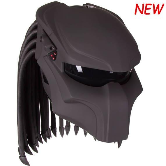 casque de moto custom predator phantom 01. Black Bedroom Furniture Sets. Home Design Ideas