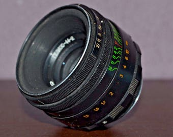 Helios 44-2 2/58mm Lens screw mount Soviet BIOTAR clone