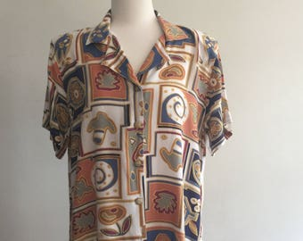 90's cotton shirt, vintage 'Katies'