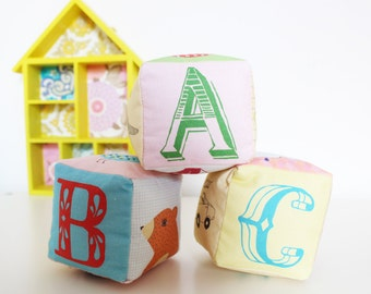 ABC Rattle Blocks