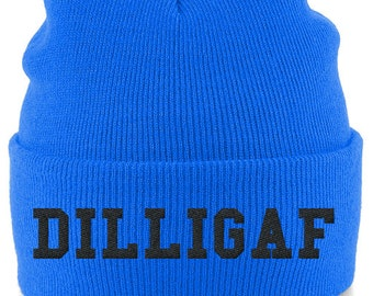 DILLIGAF Embroidered Beanie Hat