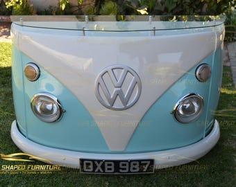 60's VW BUS Split Window TV Stand / Bar / Console Table - Man Cave, Automotive Business, Bar, Retail Sho
