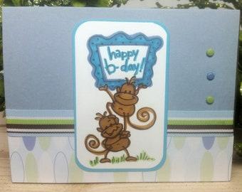Chanitgo Monkey - Birthday Card