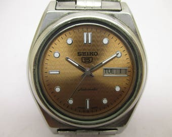 Vintage seiko automatic watch nbr 7109-82B1  in excellent condition