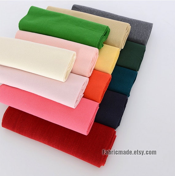 20cm Width Ribbing And Binding Knit Fabric For Neckline