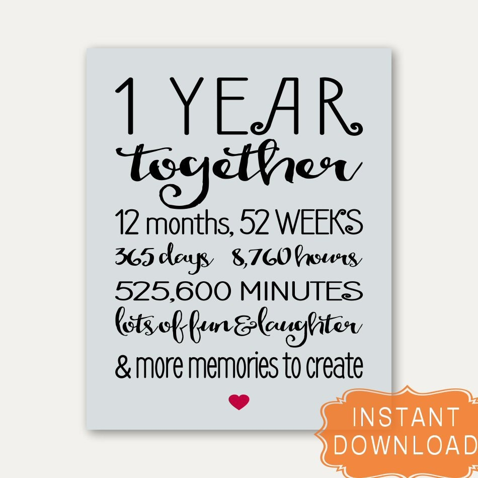 1 year anniversary cards for girlfriend