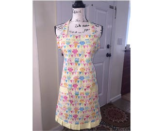 Owl Apron  Ladies teens women