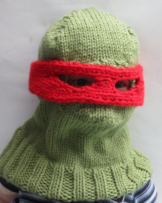 TMNT Teenage Mutant Ninja Turtle Balaclava Child Winter Hat