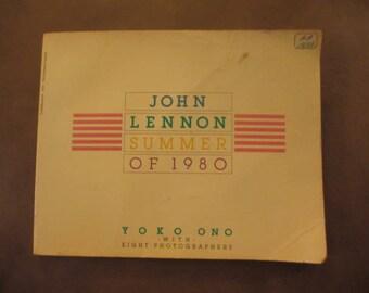 John Lennon Summer of 1980 Yoko Ono with Eight Photographers, Photos of John and Yoko Ono, Pictures of John Lennon, Lennon Song Lyrics