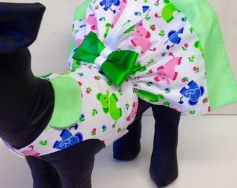 Precious Pup elephant dog dress