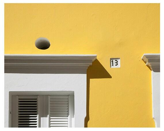 Photography by Cindy Taylor, Fine Art Photography, Travel Photography, Islands, Yellow, White, Mango, Cottage Decor, Coastal, 8x10 Print