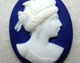 Old Porcelain Cameo