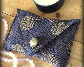 The Amethyst Tarot Keeper Envelope Bag