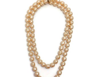 Chanel Vintage 1981 Pearl Necklace