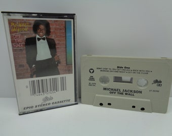 Michael Jackson Off the Wall Cassette