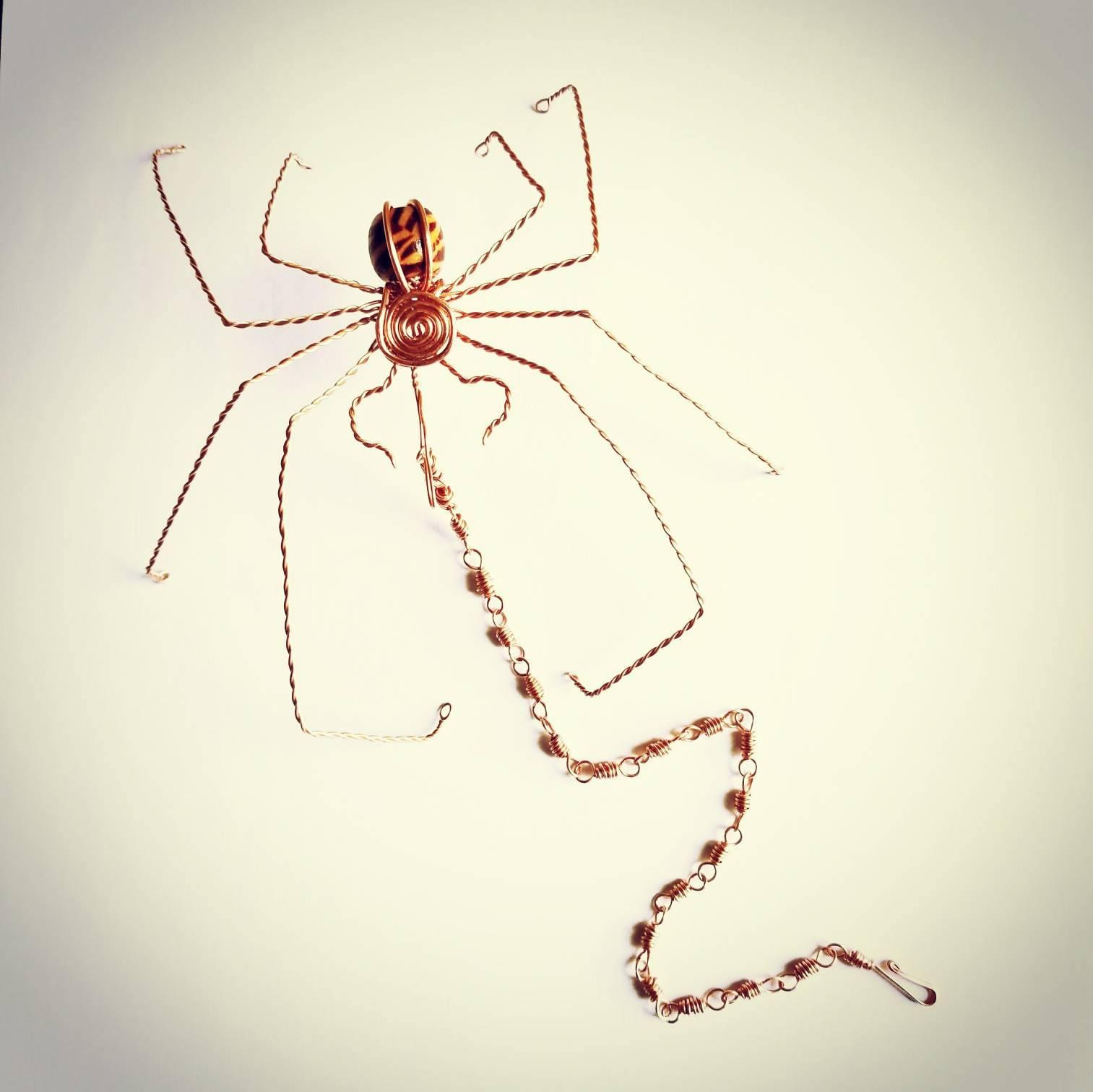 Spinne Charme Rückspiegel Spider Amulett Anhänger