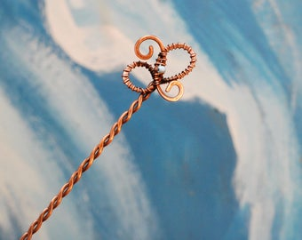 Hair Fork, Copper Hair Stick, Hair Pin Hair Accessories for Women hairstick hair stick barrette hair slide stick   copper hair jewelry shawl