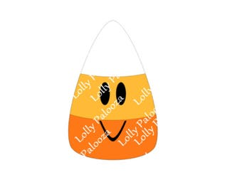 Candy Corn DIGITAL File.  Instant Download.  SVG, PNG, Studio Files. No Phsyical Items Shipped