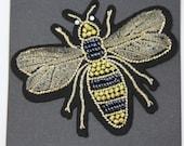 Beaded Royal Bee Motif/Pa...