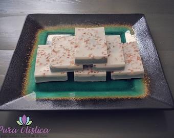 Pink Grapefruit Shea Butter Soap with Himalayan Salt
