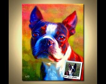 Custom Pet Portrait - Custom Portraits from your photos