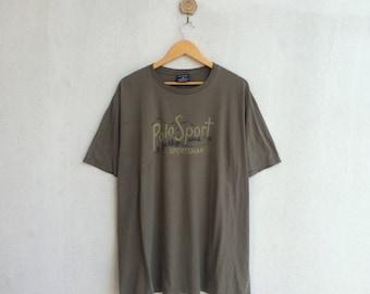 Vintage 90's Polo Sportsman T-Shirt Mountain Design