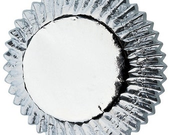 Silver Foil Wilton Standard Cupcake Liners Baking Cups Muffin Cups Baking Supplies Cupcake Supplies - Silver Cupcake Liners