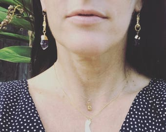 California Necklace,Gold California Necklace,Gold California Charm Necklace,Gold State Necklace,California Charm Necklace,CA Necklace,CA