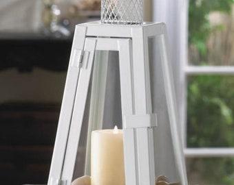 6-Summit White Candle Lantern