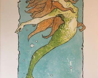 Mermaid One print limited of 10