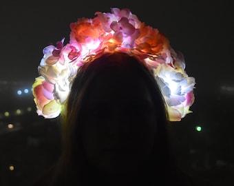 Light-Up Flower Crown