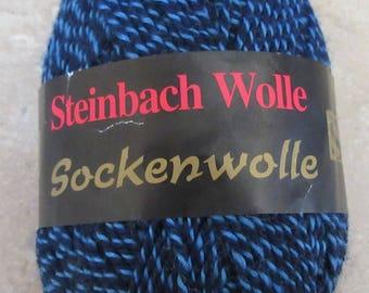 Steinbach Wolle Sockenwolle Blue Yarn