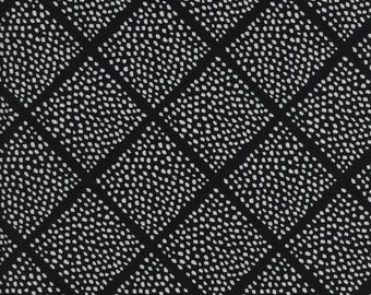Lattice Dots Black And White Collection By Sarah Watts for Cotton & Steel Fabrics